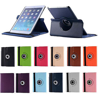 Stylish 360 Rotating PU Leather Smart Case Cover For Apple IPad AIR 1 2 3 10.5  • 3.99£