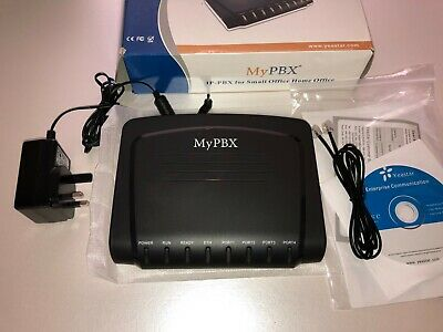 Yeastar MyPBX-Soho - IP-PBX  With 2 X Dual FXO Port Fitted • 110£
