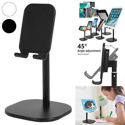 Universal Tablet Stand Holder Mobile Phone Desk Mount For IPhone IPad Samsung • 5.59£