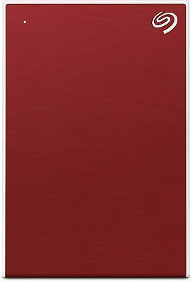 Seagate Backup Plus Slim 1 TB External Hard Drive Portable HDD – Red USB 3.0 For • 43.03£