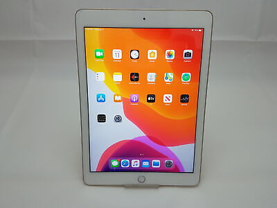 Apple IPad (5th Generation) 9.7  A1822, 32GB Wi-Fi Only Gold, No Touch ID • 134.99£