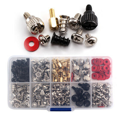 228pcs Screw Kit For Motherboard Computer PC Case Fan CD-ROM Hard Disk Notebook • 6.99£
