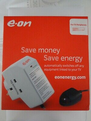 EON Surge Protected Energy Saver Power Down Socket W/TV Remote Sensor By EON  • 4.50£