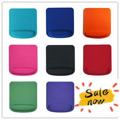 Office Mouse Pad Gel With Wrist Support Anti-Slip Mice Mat For Laptop PC UK  • 2.99£