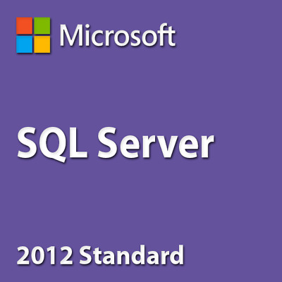 SQL Server 2012 Standard 20 Cores / CAL Product Key ✔️ 30 Sec Delivery ✔ • 69.99£