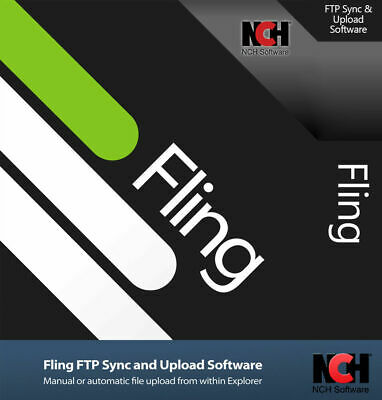 NCH Fling FTP Sync And Upload Software FULL License Lifetime Activation Key 2020 • 14.99£