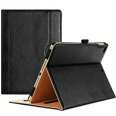 Apple IPad 10.2 8th,7th Generation 2020-19 Genuine Leather Flip Stand Case Cover • 7.10£