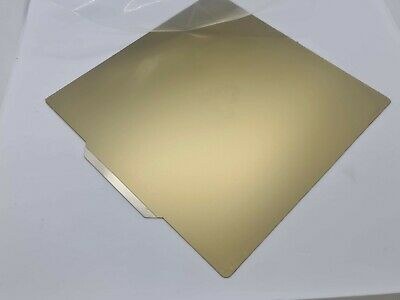 235mm Square PEI Sheet Mounted On Spring Steel Sheet With Self Adhesive Magnet • 32.99£