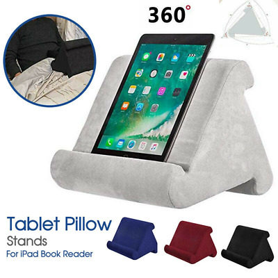 Tablet Stand Pillow Holder Book Reader Rest Lap Reading Cushion For IPad Phone V • 7.88£