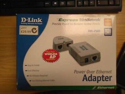 Power Over Ethernet Adapter • 29.99£