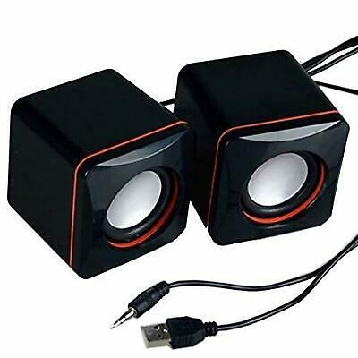 Portable PC Computer Laptop Speakers USB Powered Desktop Mini Speaker  • 6.99£