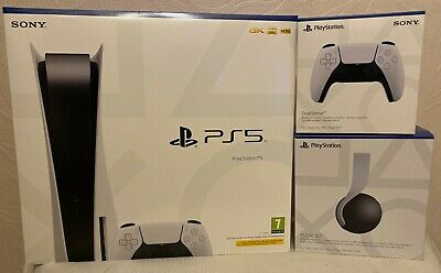 PlayStation 5 Bundle SEALED (Includes Extra Controller & PS5 Headset) • 650£