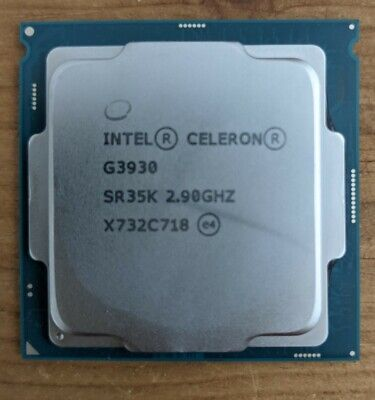 Intel Celeron G3930 - 2.90GHz Dual-Core (BX80677G3930) Processor • 14.50£