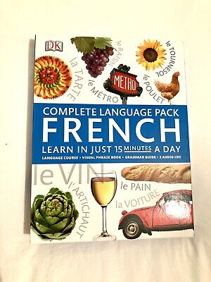 Learn To Speak French CD's Set • 5£