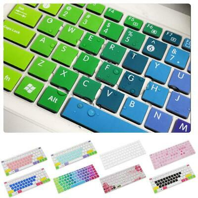 Colorful Silicone Keyboard Cover Skin For 14 Inch HP Pavilion 14-ab 14-ac Etc • 4.69£