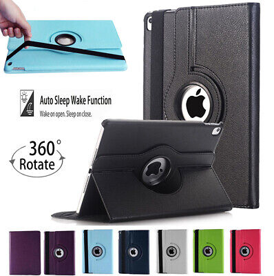 Rotating 360 PU Leather Stand Case Cover For Apple IPad 9.7  5th 6th Generation • 3.99£