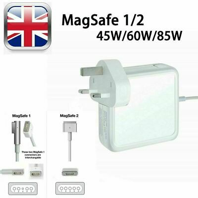 45W 60W 85W AC Adapter Power Charger For Apple Macbook Pro Air MagSafe 1/2 13  F • 14.39£