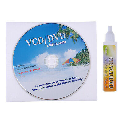 DVD VCD CD CD-Rom Lens Cleaner Rom Player Cleaning Disc Kit New • 4.87£