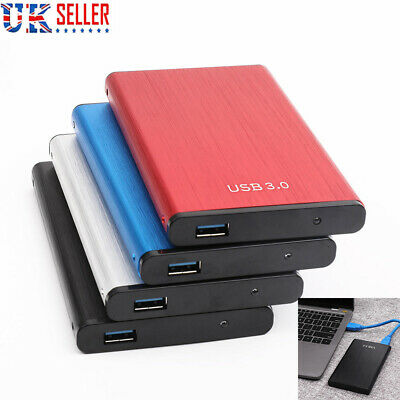 External HDD Portable Solid State Drive USB 3.0 500 GB 1TB 2TB Mobile Hard Drive • 26.59£