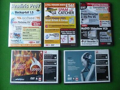Personal Computer World DVD Rom Discs • 2£