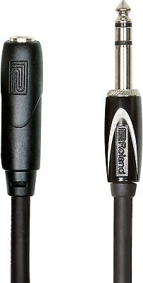 Roland 25ft /7.5m Headphone Extension Cable, 1/4  TRS Male To Female -...  • 32.69£