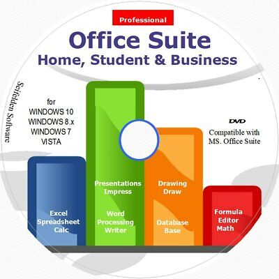 Office Suite 2021 Home Student And Business For Microsoft Windows 10 8.1 8 7...  • 24.09£
