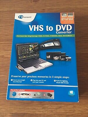 Avanquest VHS To DVD Converter New • 11£