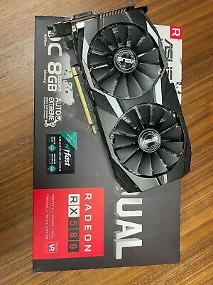 Asus Dual OC Radeon RX580 8gb - Opened But Never Used • 380£