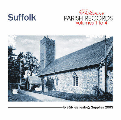 Suffolk Parish Registers - Complete Phillimore Marriage Records • 15.95£
