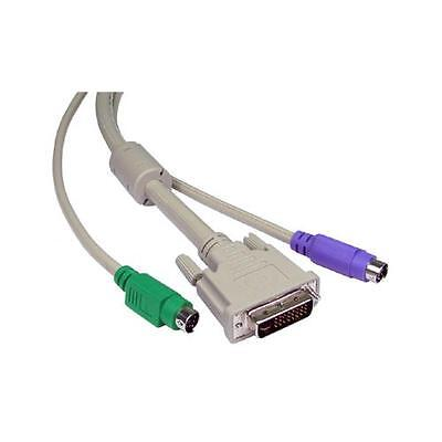 GP1296 KVM Cables For DVI-I & PS2 Switch Boxes 2 Metres -1 Set • 24.49£