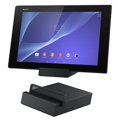Sony Dk39 Charging Dock Cradle Stand For Xperia Z2 Tablet In Black  • 113.85£