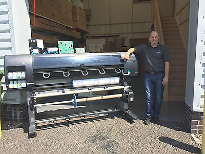 HP 5000 5500 Designjet Printer Service To Printer With Parts Added From Ebay • 360£