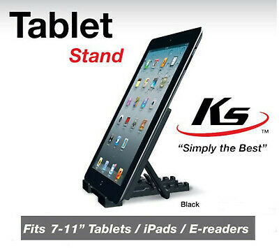 New KS Universal Multi-Angle Stand Holder For IPad E-reader Tablet 7  To 11  • 2.75£