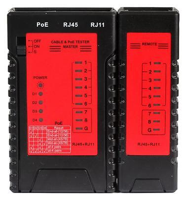 Tenma - 72-2955 - Network Cable Tester With Poe • 36.99£