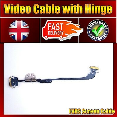 Brand New For Apple Macbook Air A1466 LED LVDS Screen Video Cable With Hinge • 161.25£