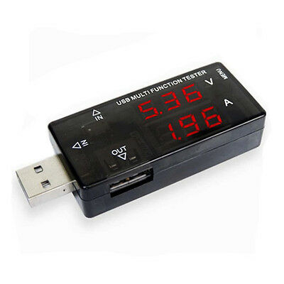 Micro USB Charger Speed Tester Checker MA Amp Volt Meter Test Gauge Mobile Phone • 7.12£