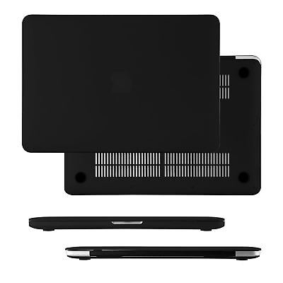 Hard Shell Case Cover For Macbook Pro 13 Inch Hard Case Mid 2012 A1278 - Black • 12.90£