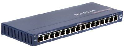 Netgear ProSafe GS116 16-port Gigabit Switch • 78.88£