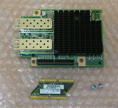 Dell 10GbE Network Adapter Dual Port SFP+ TCK99 With Interposer Board HH4P1 • 120£
