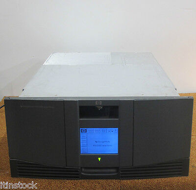 HP Storageworks MSL5026 S2 Backup Tape Library Pn 293472-B22 No Tape Drives • 240£