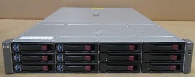 HP MSA60 Modular Smart Array 2U 6TB HDD 1x SAS I/O Module 399049-001 418408-B21 • 240£