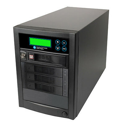 1 To 3 High Speed 150mps SATA Hard Drive HDD & SSD Memory Clone Copy Duplicator • 656.88£