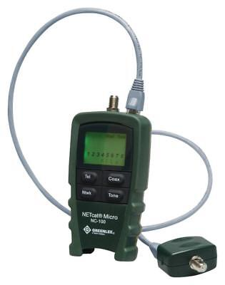 Digital Voice, Data And Video Wiring Tester - GREENLEE COMMUNICATIONS • 133.09£