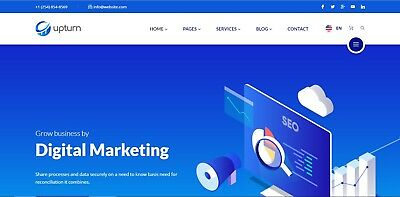 Website Html Template SEO And Digital Marketing • 13£