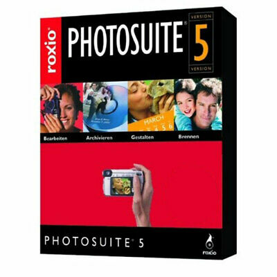 Roxio PhotoSuite 5 - Photograph Editing Software PC CD-ROM (Disc In Sleeve) • 2.95£