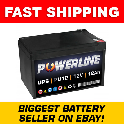 PU12 Powerline UPS Battery 12Ah • 32.02£