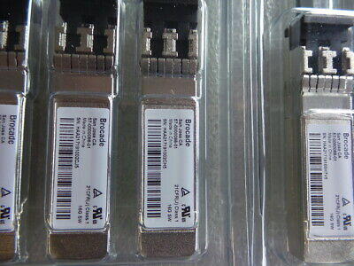 14x Brocade 16GB FC SW SFP+1 PCK TRANCEIVER - 57-000088-01 NEW • 850£