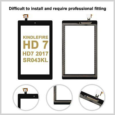 Touch Screen Digitizer For Amazon Kindle Fire HD 7 HD7 2017 SR043KL Glass Lens • 8.49£