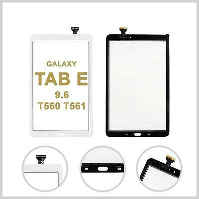 For Samsung Galaxy Tab E 9.6 T560 T561 Touch Screen Digitizer Glass Lens - White • 8.49£