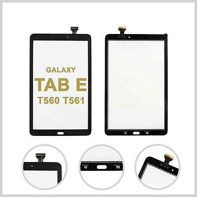 Touch Screen Digitizer Glass Lens For Galaxy Tab E T560 T561 - Black • 7.99£